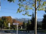 Vu du campus sur le massif de Belledonne
